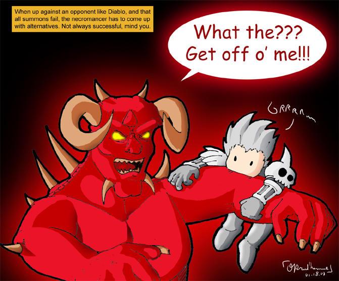 Diablo 2 Comic - Necomancer by Foul-Imp