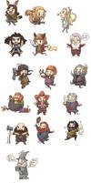 dwarf by wcomix