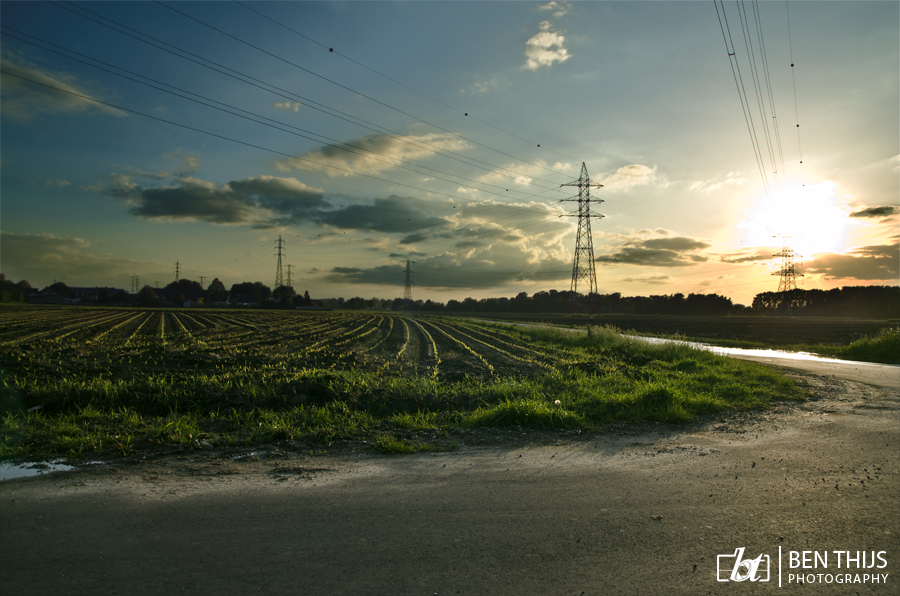 Sunset by BenThijs