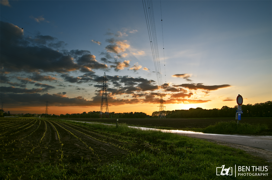Sunset 2 by BenThijs