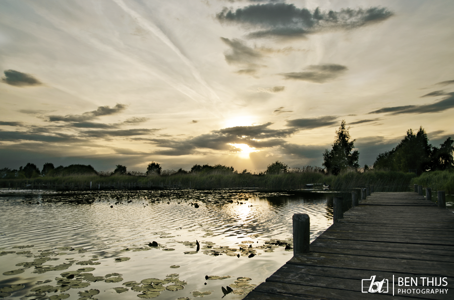 The lake by BenThijs