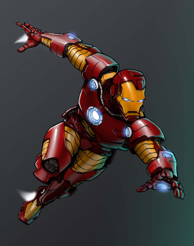 Iron Man by VaderPrime1