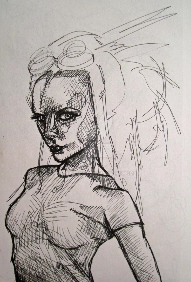 Black arachnia hentai