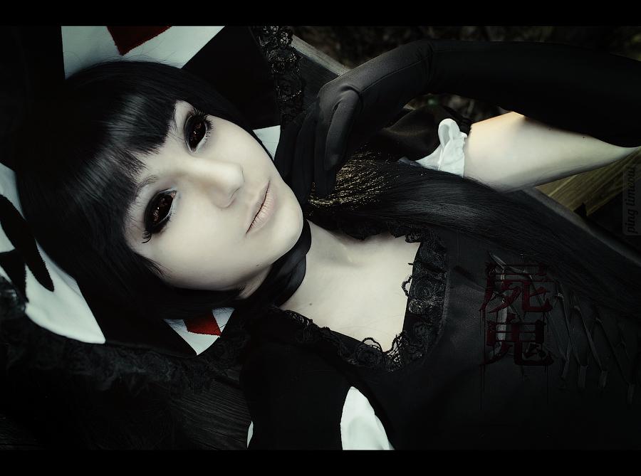 Shiki :: Sunako Kirishiki cosplay pt.6 by UselessDevice