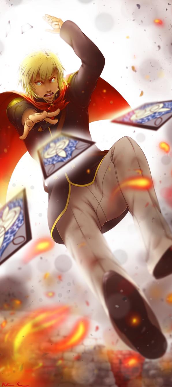 Final Fantasy Type 0: Ace by LulusDance59