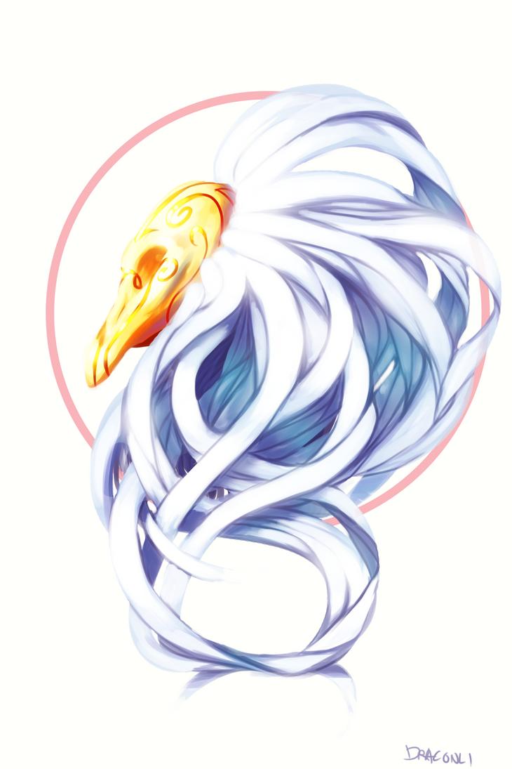 Snow Queen Dragon by Draconli