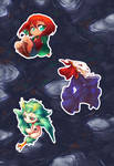 Ancient Magus Bride Stickers