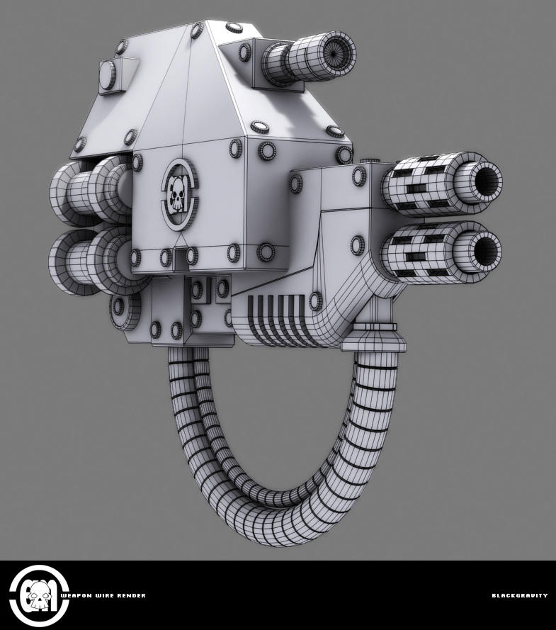 weapon wire render