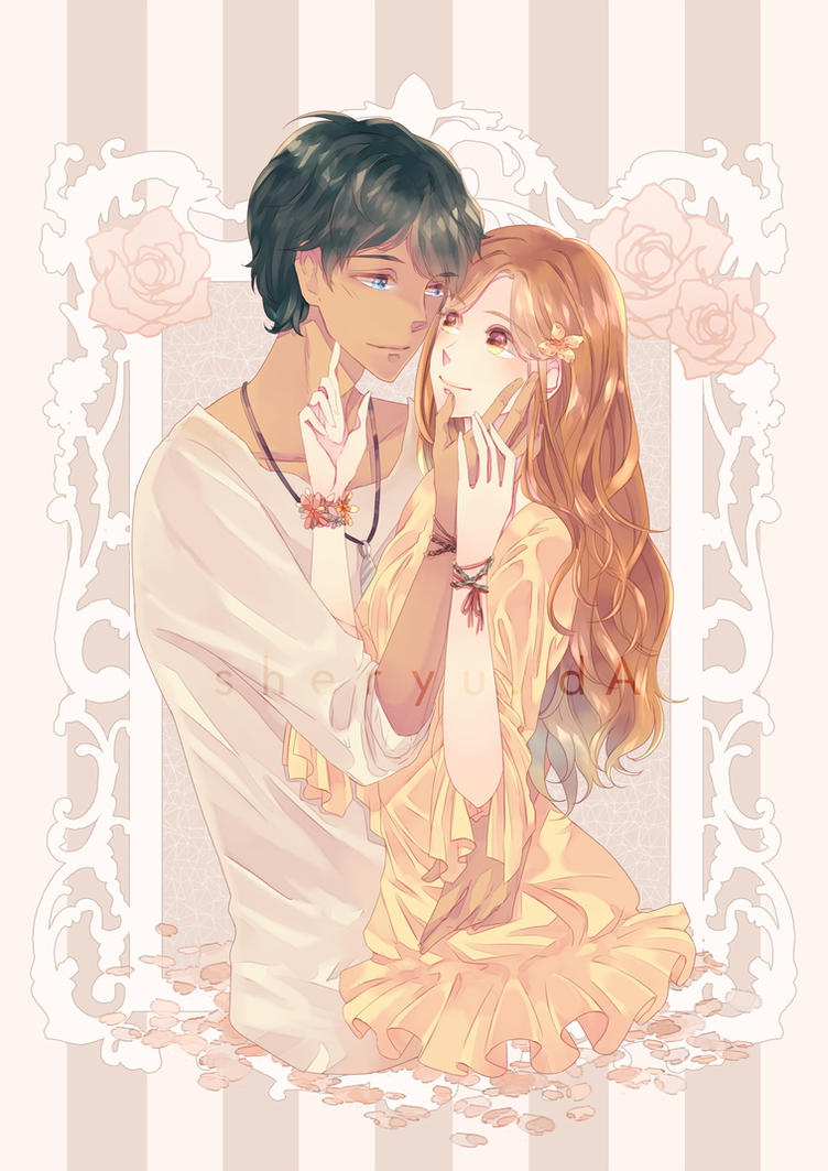 Ren and Kelsey by sheryu