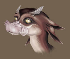 Aquatic Dragon stage 2 by ArtofOdd