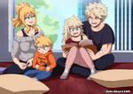 [Bnha] The Bakugou family