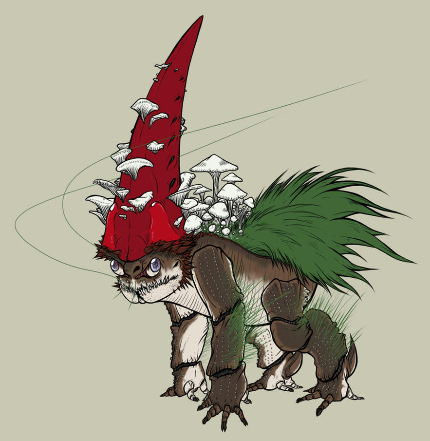Fae Anatomy: Gnome by skellington1