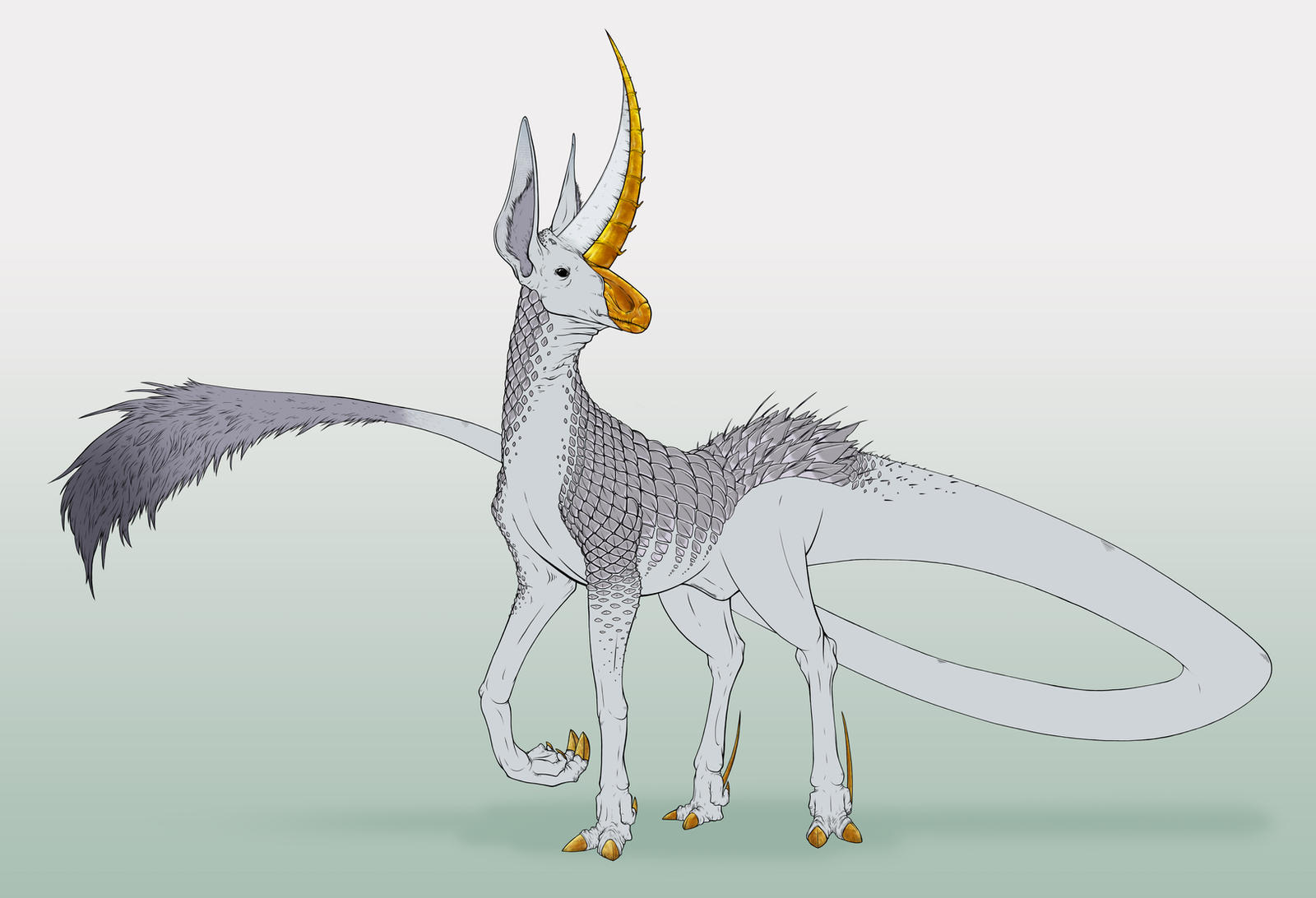 Fae Anatomy: Unicorn by skellington1