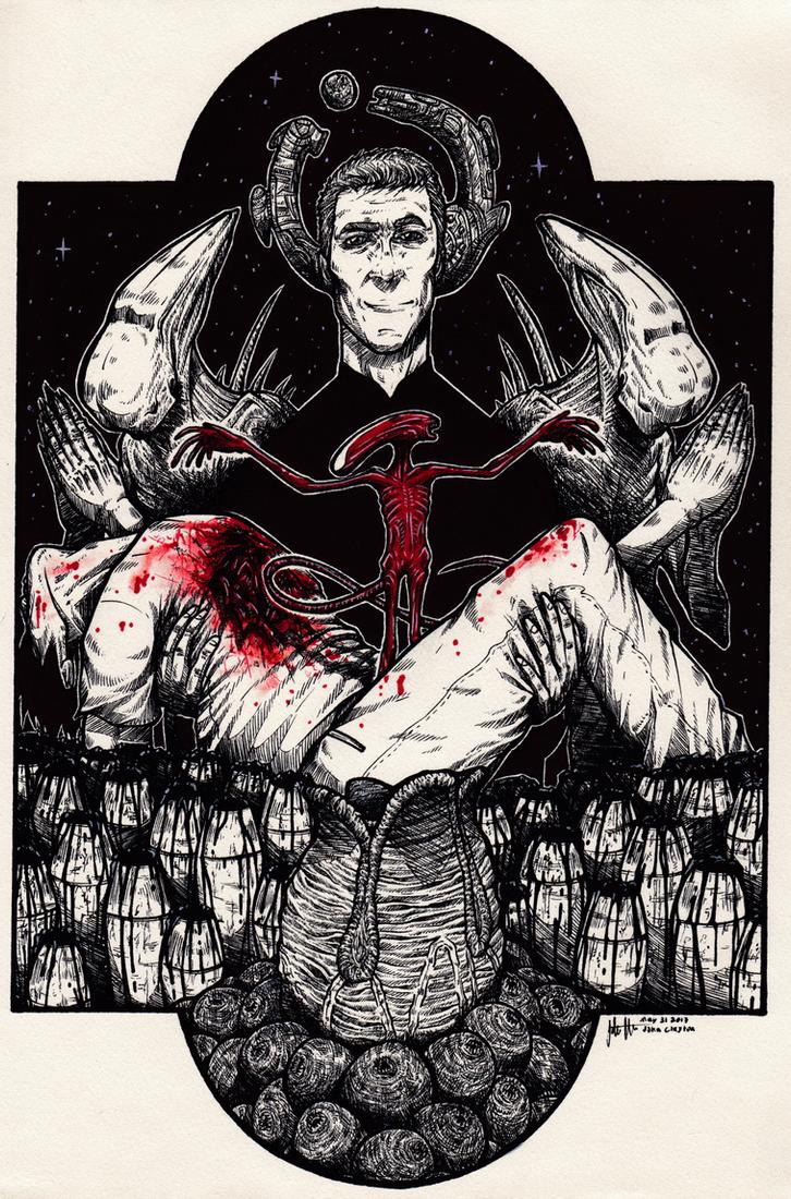 Look on my works, ye Mighty, and despair! by skellington1