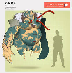 Fae Anatomy: Ogre by skellington1