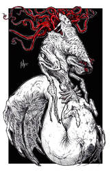 Eldritch Mermaid by skellington1