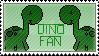 Dinosaur stamp by HagarenoDude
