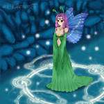 Butterfly princess by missan1990