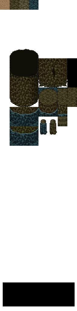 Old Cave Set By Ellenor