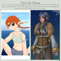 First Art Meme Ellenor by missan1990
