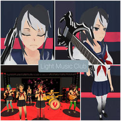 Yandere Simulator skin- Light Music Club by NicokeSenpai