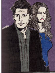 Angel and Cordy by gothcat