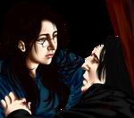 Snape's Death (genderbent harry)