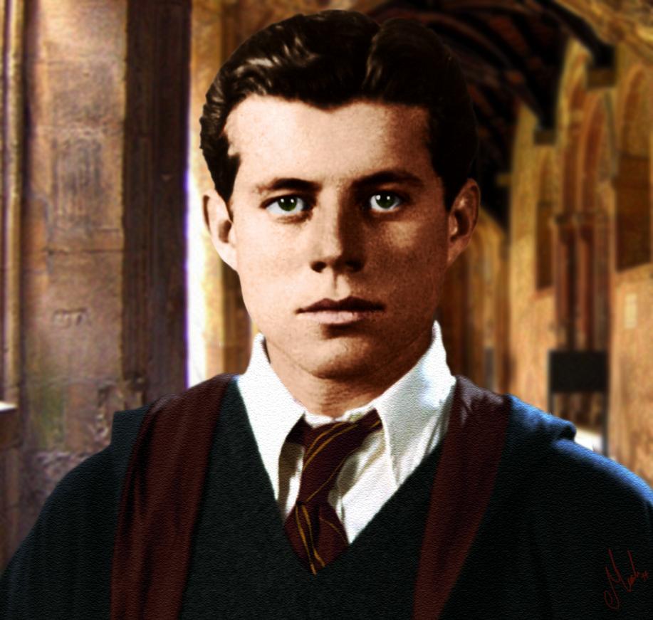AU JFK: Gryffindor's Head Boy 1934 by Tsuki-Yue