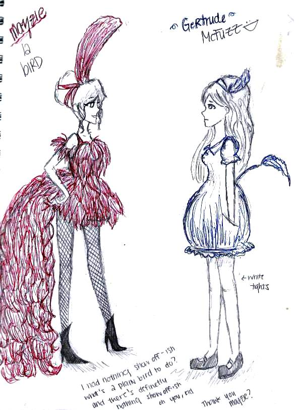 MAYZIE AND GERTRUDE by AlicetheIcePrincess on DeviantArt |Seussical Fan Art