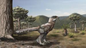 Protarchaeopteryx by cisiopurple on DeviantArt