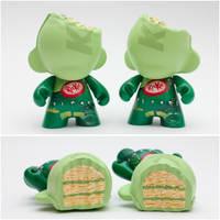 Green Tea Kit Kat Munnies by spilledpaint88