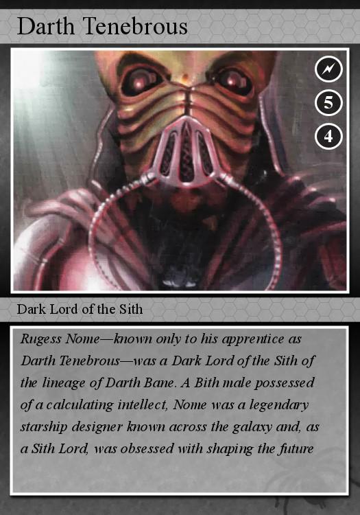 Darth tenebrous