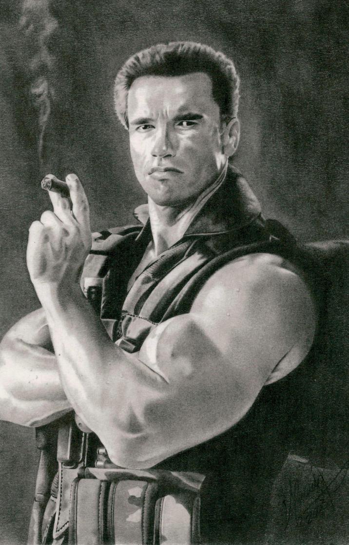 Arnold Schwarzenegge by MAUZIS
