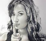 Demi Lovato - realistic design