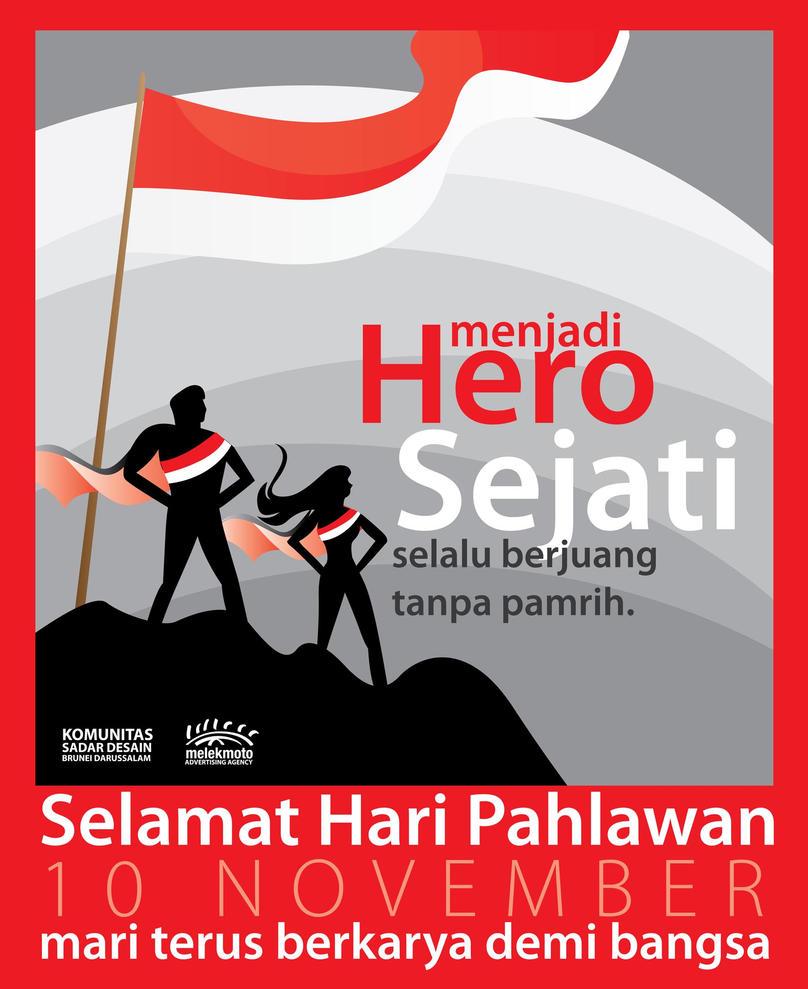 Hari Pahlawan By Idesegar