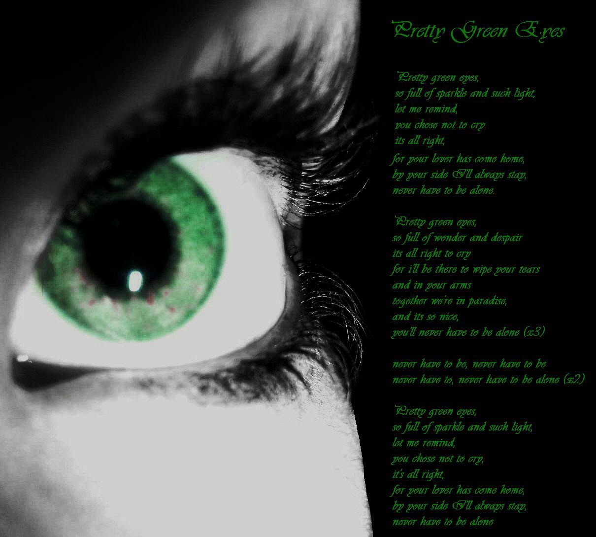 Pretty Green Eyes By Lostinthisworld On Deviantart