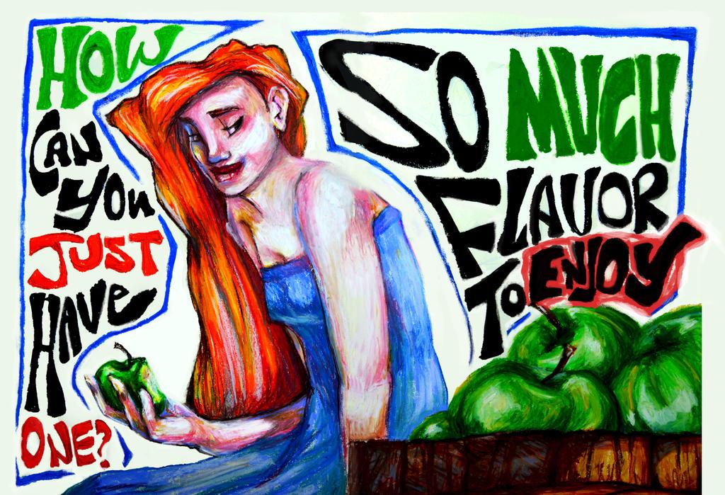Apple Girl Poster