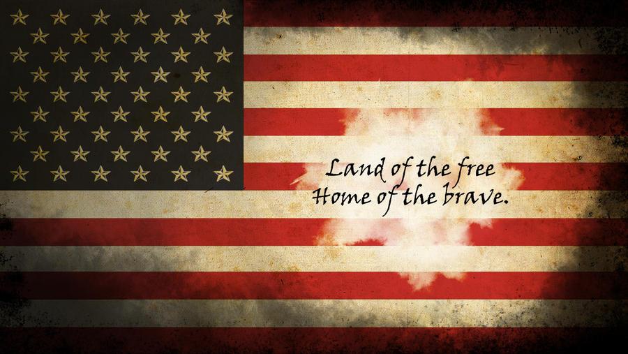 American Flag Wallpaper Brassinventor By Brassinventor On Deviantart