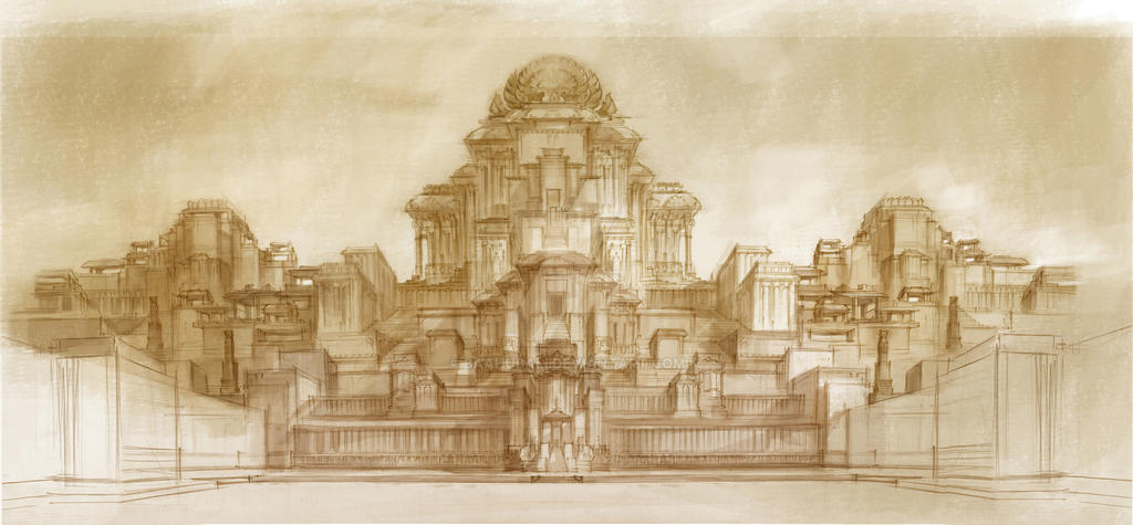 Palace design concept by baahubali on deviantart Palace design
