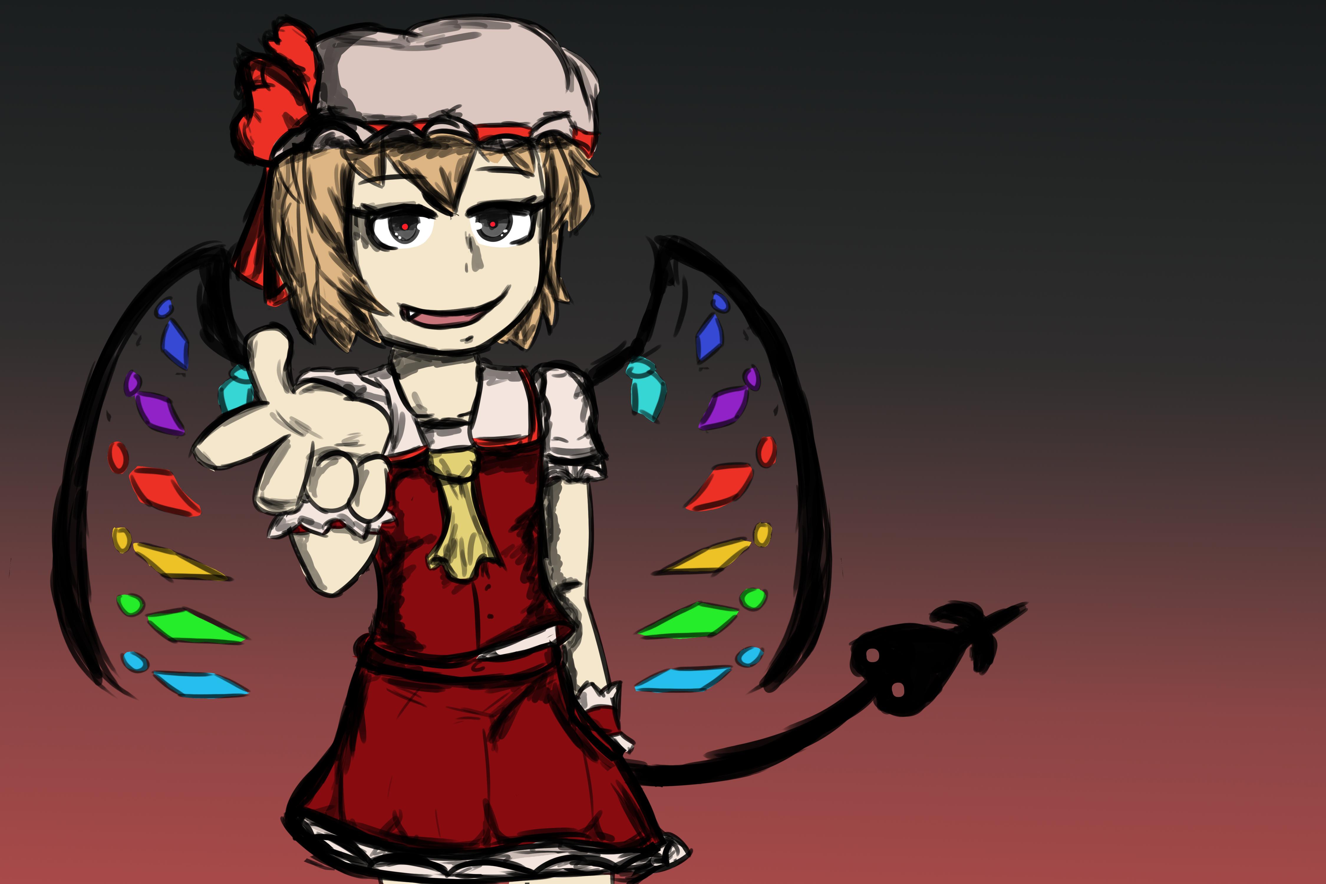 Scarlet Devil by toontownloony