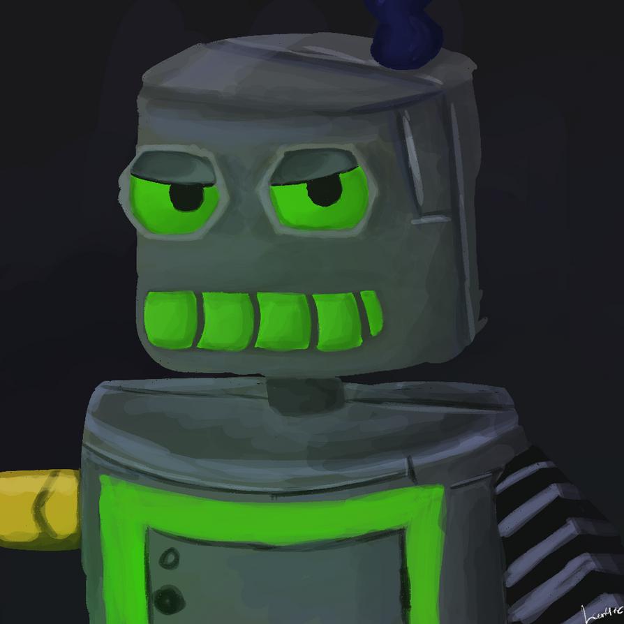 Merbot by toontownloony