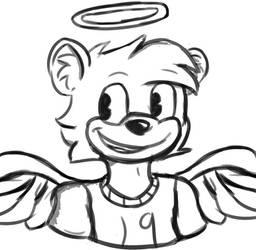 The Tooniest Angel by toontownloony