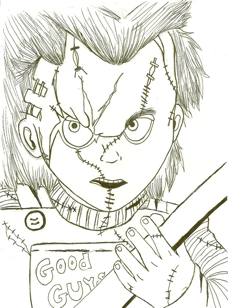 Adult Best Chucky Doll Coloring Pages Images Dashah Beauty