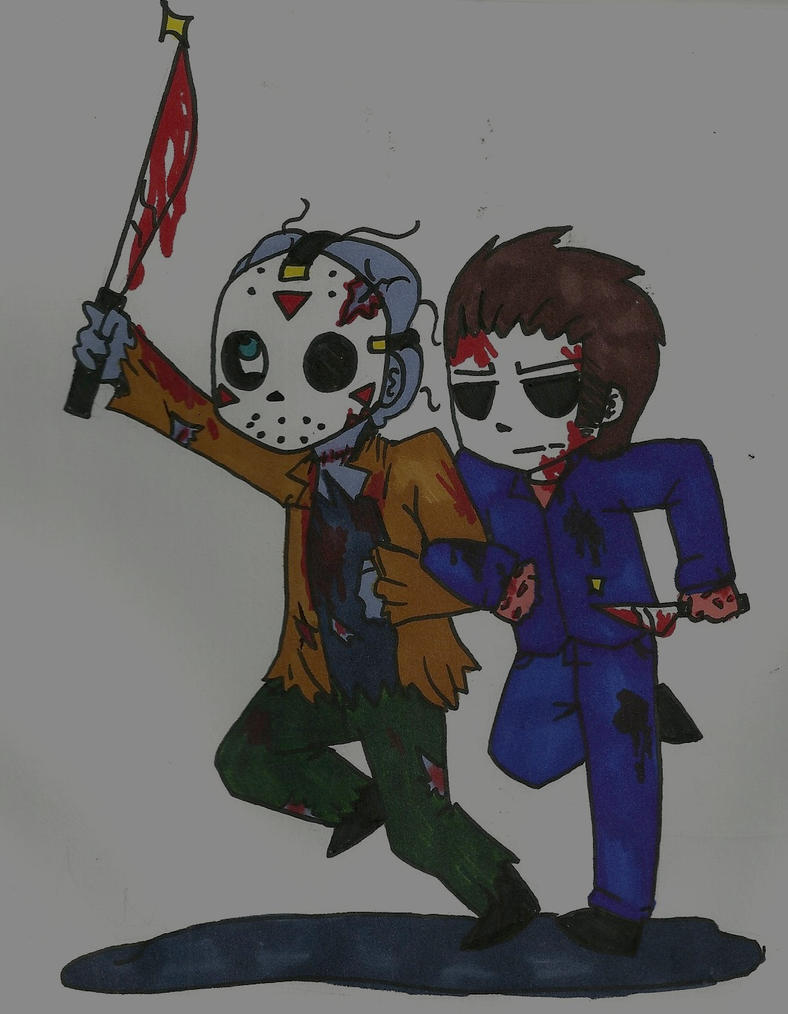 Jason Voorhees And Michael Myers Best Friends By That Love Voodoo