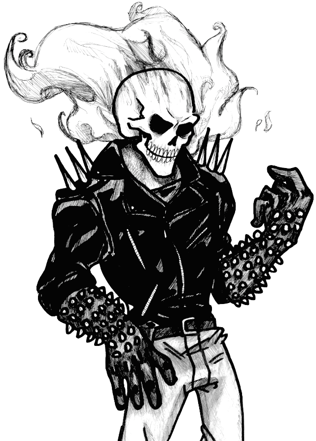 Ghost Rider by That-Love-Voodoo