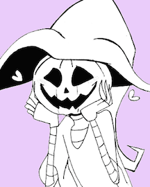 Sappy Pumpkin Person by That-Love-Voodoo