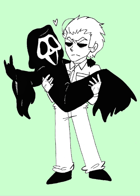 Ghosty and Mikey by That-Love-Voodoo