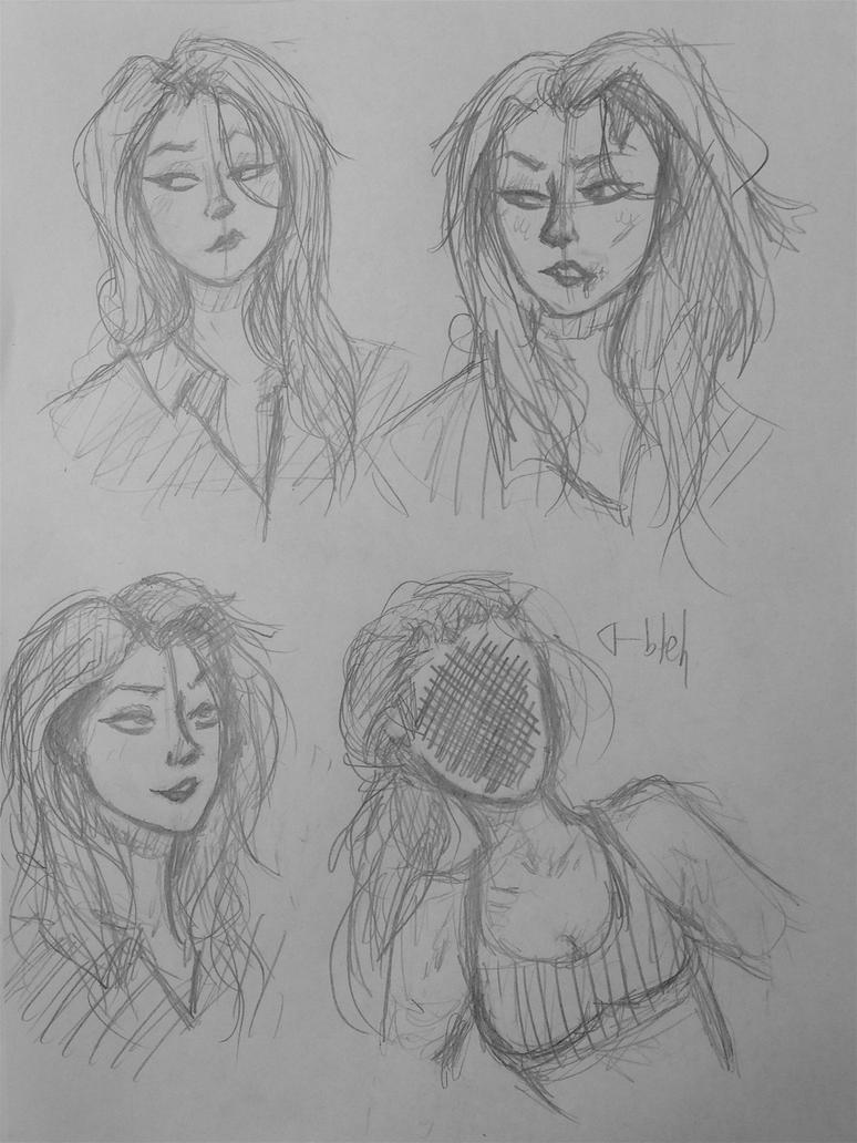 valkyrie doodles by That-Love-Voodoo