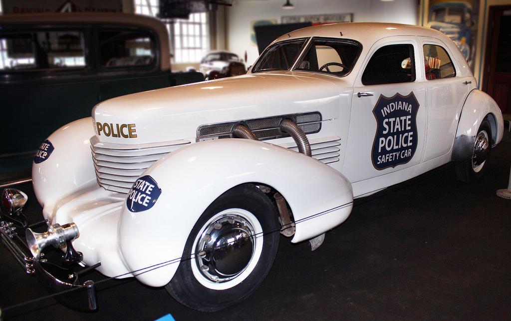 1937 Cord Police Car by MissModelT