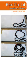 Garfield - Hama Beads